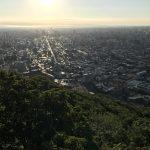 札幌円山山頂(朝活での写真)